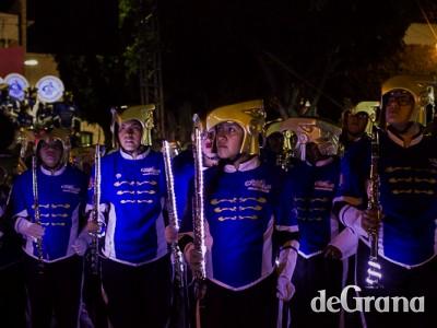 Marching Band Águilas Doradas se llevó la noche
