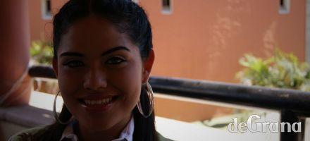 Esmeralda fue a entrevista