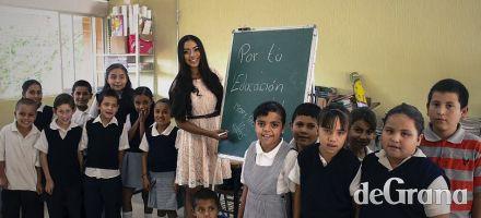 Mary trabaja por la educación